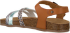 Braune BRAQEEZ Sandalen SAAR SPAIN  - small