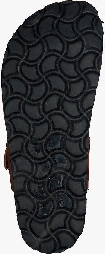 Cognacfarbene BRAQEEZ Pantolette SEF SPAIN  - larger