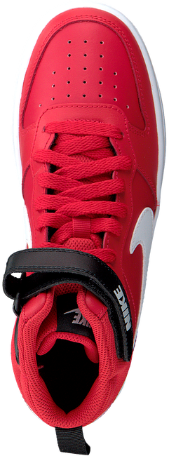Rote NIKE Sneaker high COURT BOROUGH MID 2 (GS)  - large
