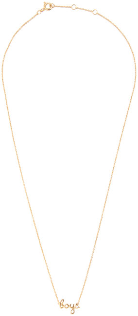 Goldfarbene ALLTHELUCKINTHEWORLD Kette URBAN NECKLACE BOYS - large