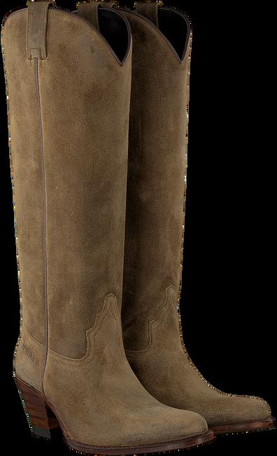 Beige SENDRA Hohe Stiefel 6592  - large