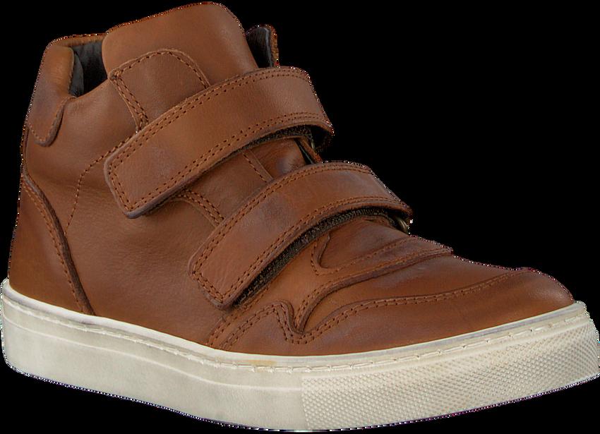 Cognacfarbene OMODA Sneaker 2302 - larger