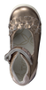 Goldfarbene TWINS Ballerinas 315211 - small