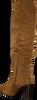 Cognacfarbene UNISA Hohe Stiefel URICA  - small