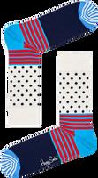 Weiße HAPPY SOCKS Socken STRIPES & DOT SOCK  - medium