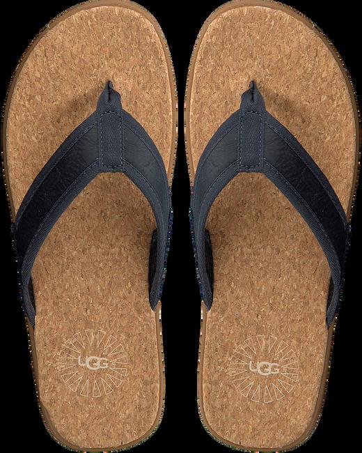 Blue UGG shoe SEASIDE FLIP  - large