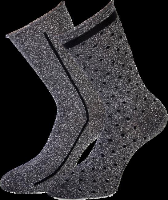 Graue MARCMARCS Socken ELENA COTTON - large