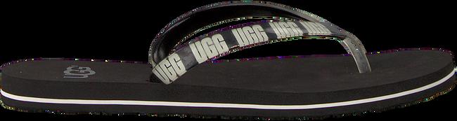Schwarze UGG Pantolette SIMI GRAPHIC  - large