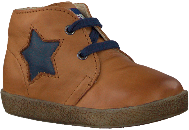 Cognacfarbene FALCOTTO Schnürboots CHAD - large