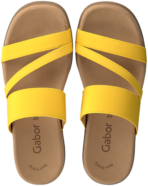 Gelbe GABOR Pantolette 702  - large