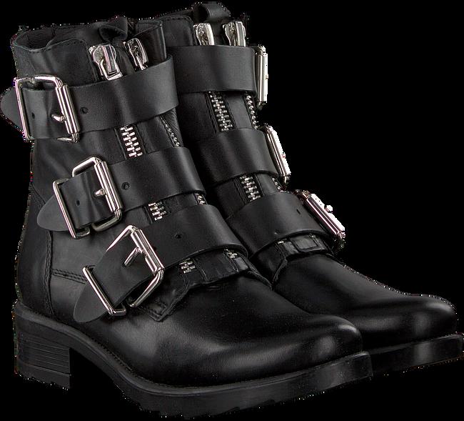 Schwarze OMODA Biker Boots LPBASIM - large