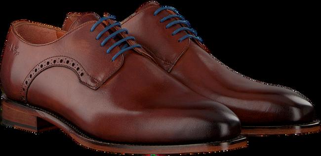 Cognacfarbene VAN LIER Business Schuhe 94310 - large