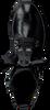 Schwarze MJUS Schnürboots 108225 - small