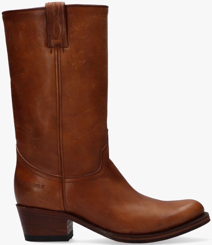 Cognacfarbene SENDRA Hohe Stiefel 14394  - larger