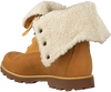 Camelfarbene TIMBERLAND Ankle Boots 6IN WP SHEARLING BOOT - small