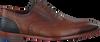 Cognacfarbene FLORIS VAN BOMMEL Business Schuhe 19062 - small