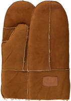 Cognacfarbene WARMBAT Handschuhe MITTENS WOMEN  - medium