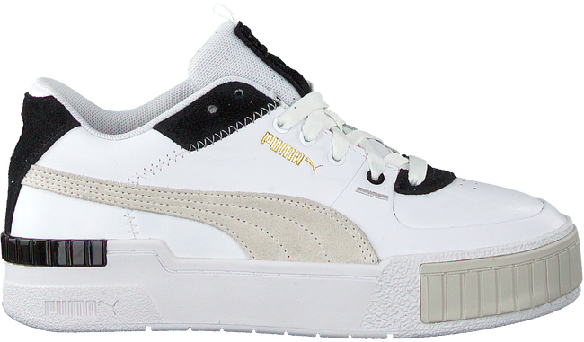 Weiße PUMA Sneaker low CALI SPORT MIX WN'S  - large