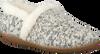 Weiße TOMS Hausschuhe SLIPPER - small