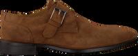 Cognacfarbene MAZZELTOV Business Schuhe 4143  - medium