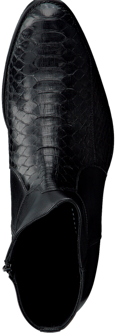 Schwarze SENDRA Stiefeletten 15842P - large