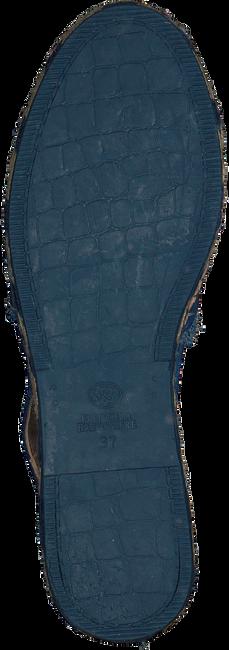Blaue FRED DE LA BRETONIERE Sandalen FRS0323 ESPADRILLE SANDAL SUED - large