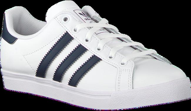 Weiße ADIDAS Sneaker COAST STAR J  - large