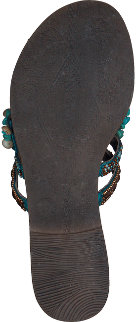 Blaue LAZAMANI Pantolette 75.704  - large