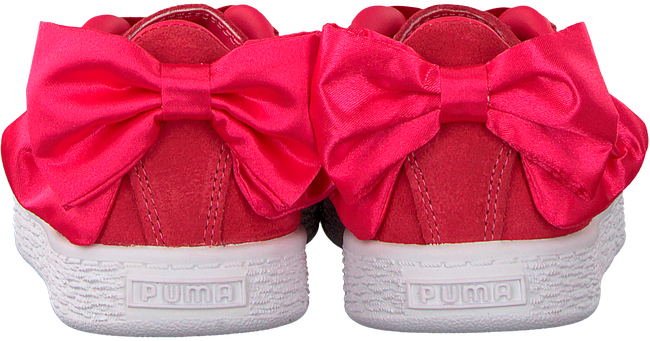 roze PUMA Sneakers SUEDE BOW AC PS/INF  - large