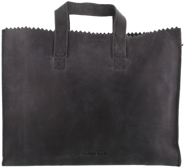 Schwarze MYOMY Laptoptasche BUSINESS BAG - large