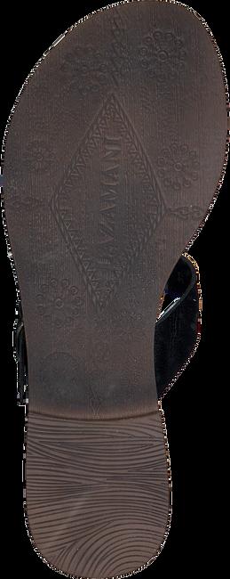 Schwarze LAZAMANI Pantolette 75.608  - large