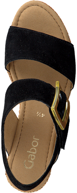 Schwarze GABOR Sandalen 795.1  - large