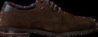 Braune TOMMY HILFIGER Business Schuhe SIGNATURE HILFIGER SHOE  - medium