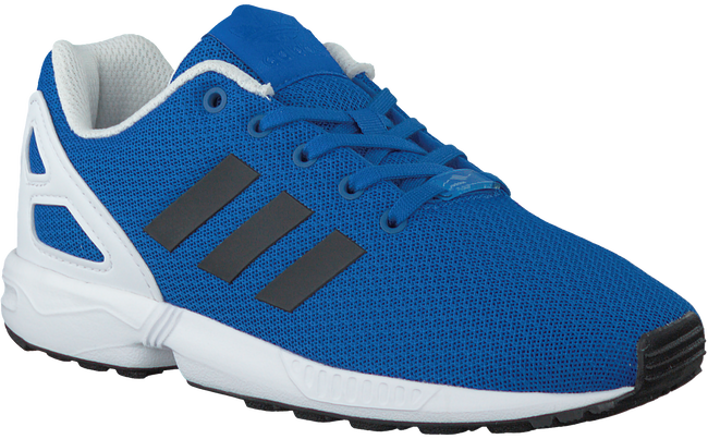 Blaue ADIDAS Sneaker ZX FLUX KIDS - large