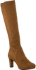 Cognacfarbene UNISA Hohe Stiefel NATALIE  - small