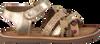 Goldfarbene GIOSEPPO Sandalen 44977 - small