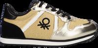 Goldfarbene BENETTON Sneaker low QUARREL MIX  - medium
