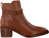 Cognacfarbene TOMMY HILFIGER Stiefeletten TH HARDWARE MID  - small
