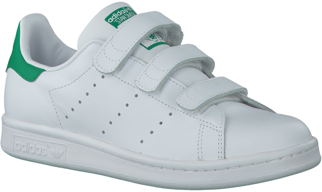 Weiße ADIDAS Sneaker STAN SMITH CF J - large