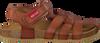 Cognacfarbene RED RAG Sandalen 19091 - small