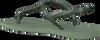 Grüne HAVAIANAS Zehentrenner TWIST  - small