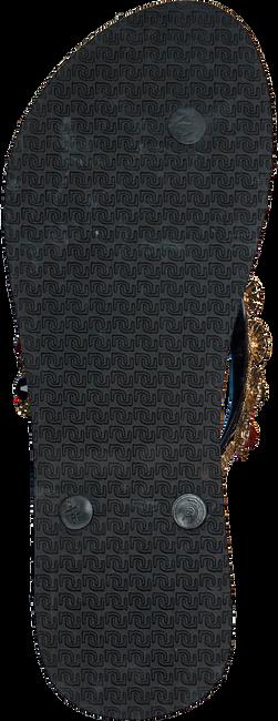 Schwarze UZURII Pantolette COLORFUL DIANA - large