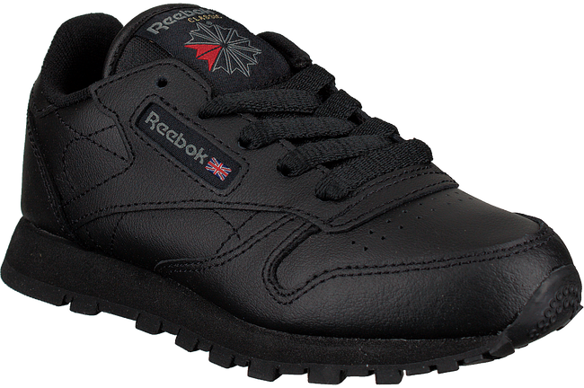 Schwarze REEBOK Sneaker CLASSIC LEATHER KIDS - large