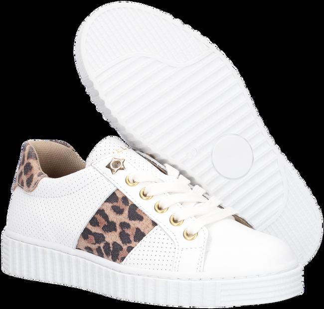 Weiße BULLBOXER Sneaker low AIB006ESL  - large