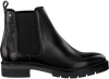 Schwarze TOMMY HILFIGER Chelsea Boots METALLIC LEATHER CHELSEA BOOT - small