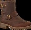 Braune PANAMA JACK Ankle Boots FELINA B5 - small