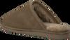 Grüne WARMBAT Hausschuhe CLASSIC UNISEX SUEDE - small