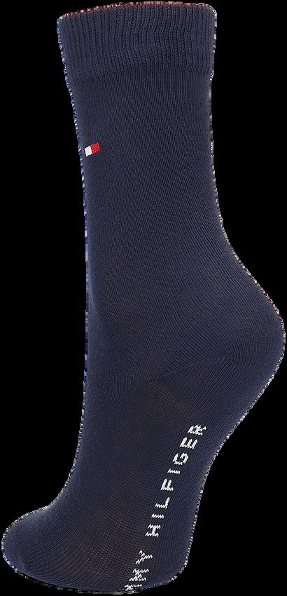 Blaue TOMMY HILFIGER Socken TH CHILDREN SOCK TH BASIC 2P - larger
