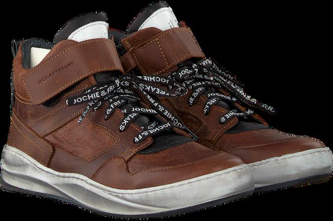 Cognacfarbene JOCHIE & FREAKS Sneaker 18480 - large