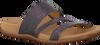 Silberne GABOR Pantoletten 703 - small